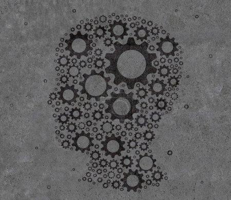 head with gears
