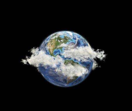 Photo pour Planète terre. éléments de cette image fournie par la nasa. - image libre de droit
