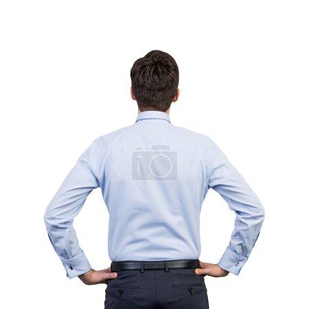 businessman in a shirt