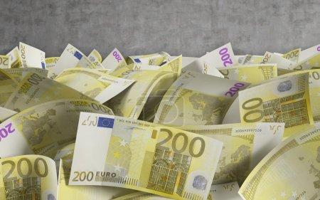 200 euro bills