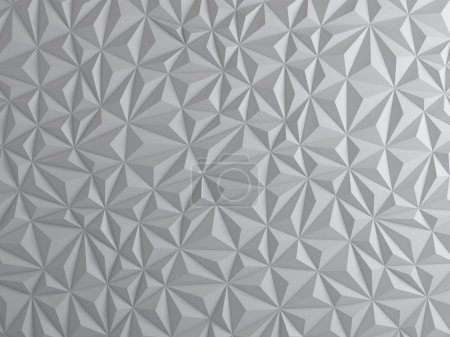 Photo for Abstract geometric style white background - Royalty Free Image
