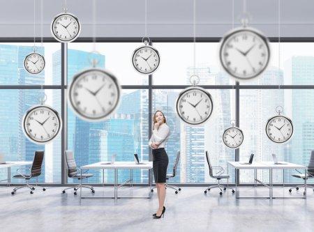 affaires et le temps, montre de poche