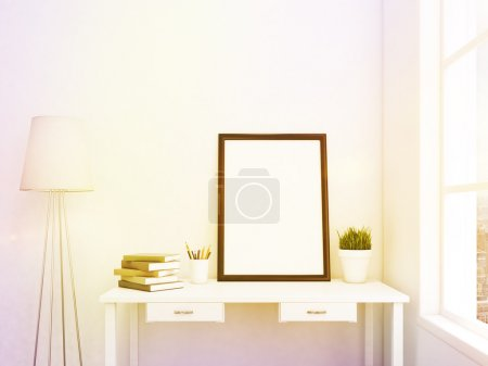 Blank frame in the table