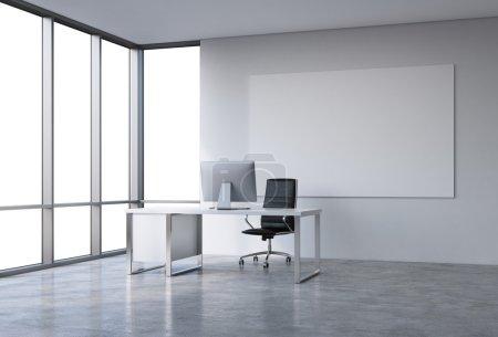 Büro im Wolkenkratzer