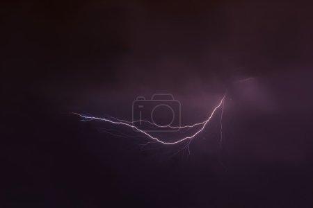 lightning storm clouds sky