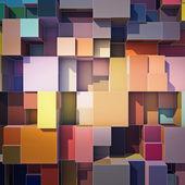 "Постер, картина, фотообои ""Кубики абстрактный фон"""