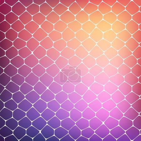 Foto de Antecedentes de las células coloreadas, Ilustración para su arte de negocio - Imagen libre de derechos