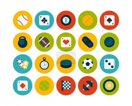 Sport and game icons
