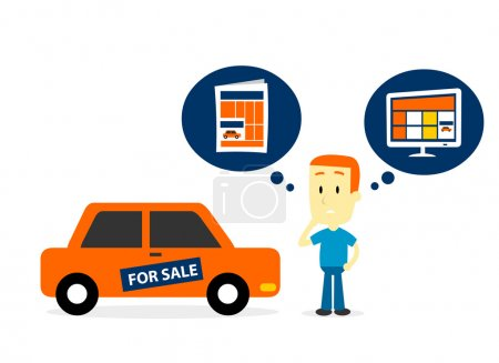 Better Sell A Car on Newspaper Ads or Website Ads?