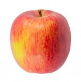 """Постер, картина, фотообои """"Красное яблоко, изолированные на белом фоне"""""""