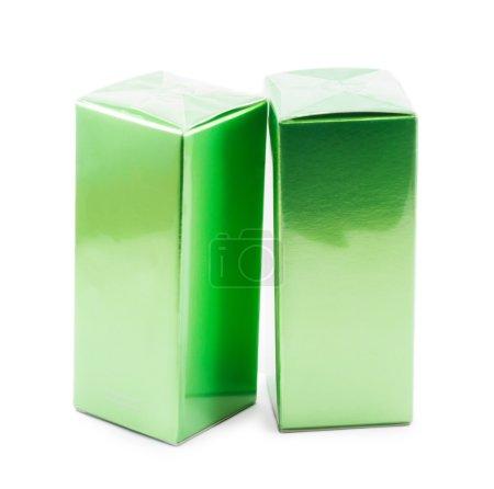 Photo pour Boîte de parfum isolé sur fond blanc - image libre de droit