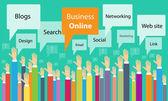 business on line process communication