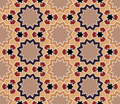Ornamental Seamless Islamic Pattern