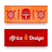 African Tribal Art Banner