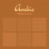 Arabic seamless patterns