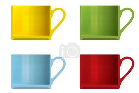 Shape empty cups