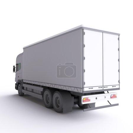 White car truck
