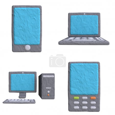 Electronic mobile devices