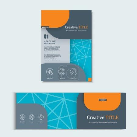 Vector background of modern material design