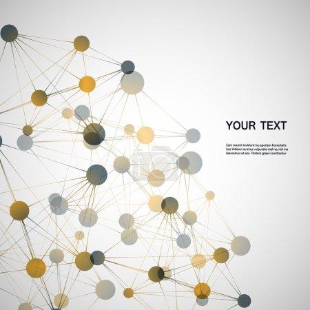 Conexión de red y el ADN