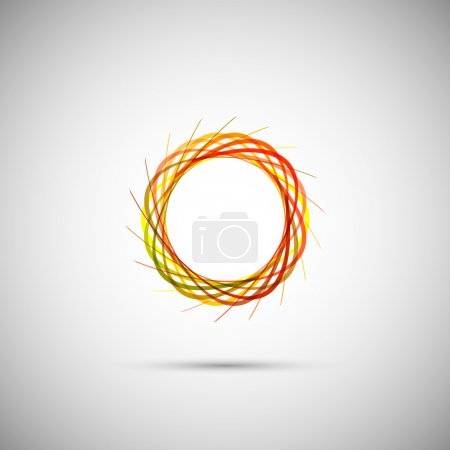 Illustration pour Les éléments d'une conception vectorielle simple - image libre de droit
