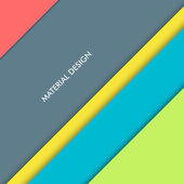 Illustration of modern material design Vector background