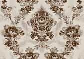 12 Abstract hand-drawn floral seamless pattern vintage background