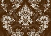 13 Abstract hand-drawn floral seamless pattern vintage background