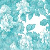 Abstract hand-drawn floral pattern rose vintage background Floral pattern can be used for wallpaper pattern fills web page background surface textures packaging and invitations