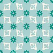 Colorful  seamless floral pattern vintage background light vector