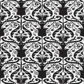Vintage květinový vzor bezešvé vektor