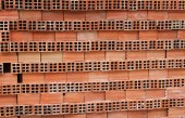 Stacked Orange Bricks