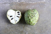 Cherimoya, Whole and Half