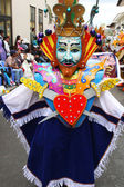 Carnival Figure in Cajamarca, Peru