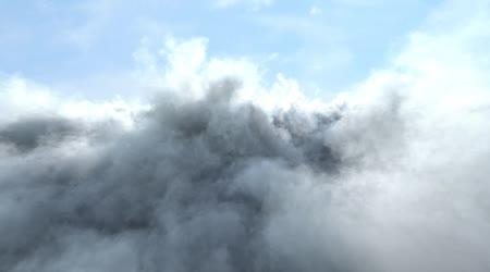 Let přes mraky
