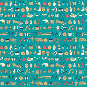 Funny winter elements Illustration be used for pattern fills wallpapers web page surface textures