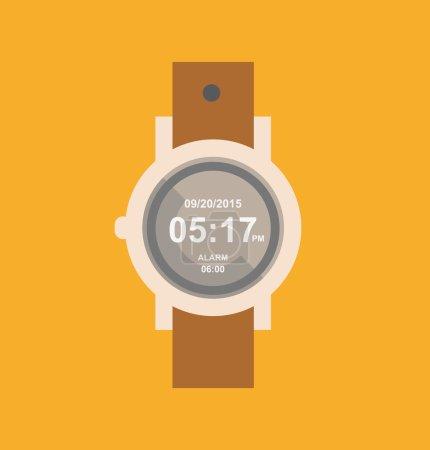 wristwatch, clock icon