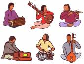 Indian musician set