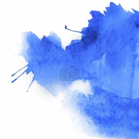 blue spot watercolor