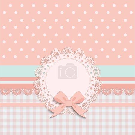 Card for little girls