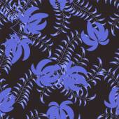 Floral ornament in style Gzhe