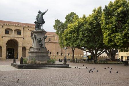SANTO DOMINGO in DOMINICAN REPUBLIC on APRIL 2: Christopher Columbus square.