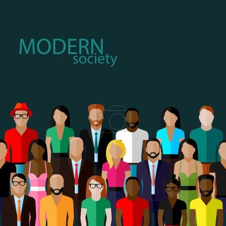 Concept de société moderne