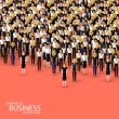 Women business community. a crowd of women (busine...