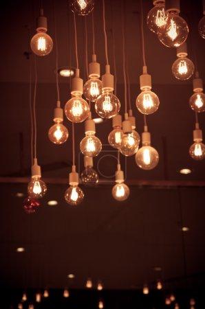 Luxury lighting decoration vintage retro