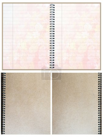 Blank Paper Notebooks