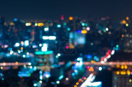 Cityscape background, Blurred Photo bokeh