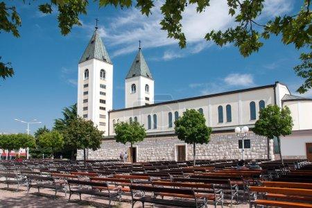 Pilgrimage church in Medjugorje