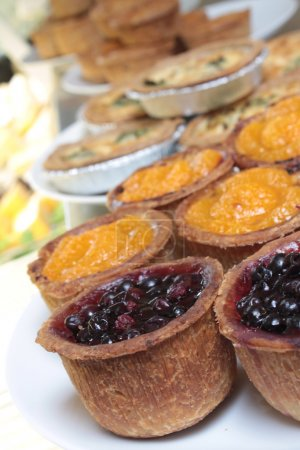 fresh baked pies pastry