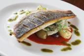 Večeře zdravé ryby